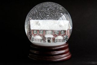Finished snowglobe