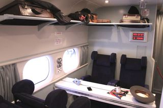 The Solent Aircraft interior