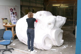 Sue Dorrington polysculpting.