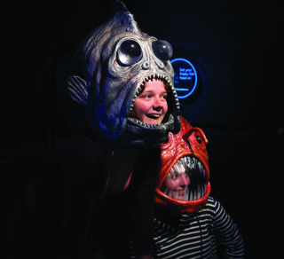 Fun deep sea fish masks