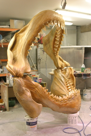 Megalodon Jaws - Exhibition, Display, Themed Attractions -
